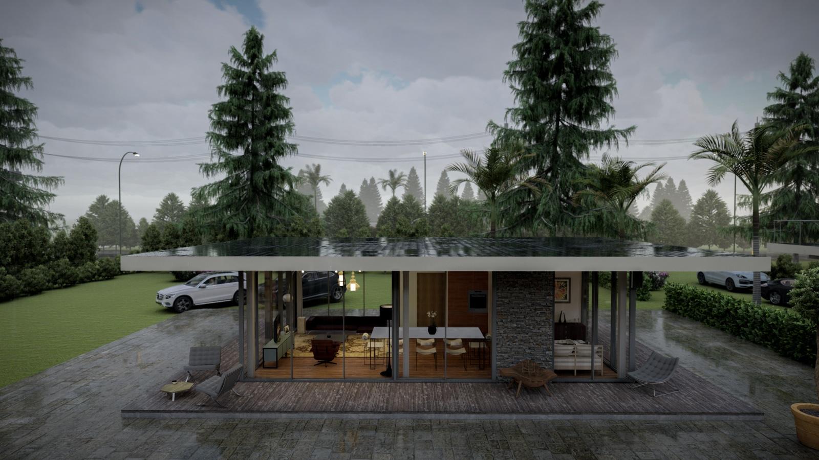 renderizado 3D diseños arquitectónicos